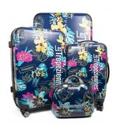 Les Tropéziennes Set 3 valises TAR01 belu