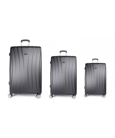 Les Tropéziennes set 3 valises VTZ20 noir