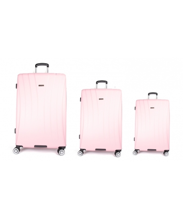 Les Tropéziennes set 3 valises VTZ20 rose