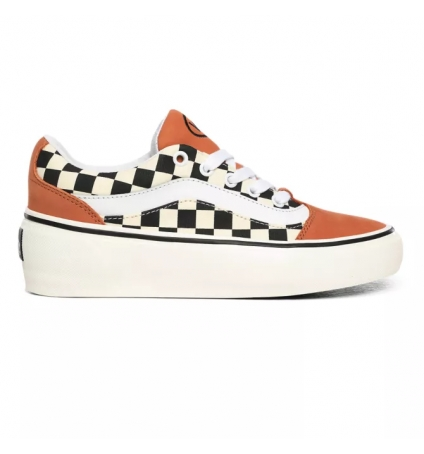Vans Shape ni (Checkerboard) Sunburn/Marshmallow VN0A4UVL24Y