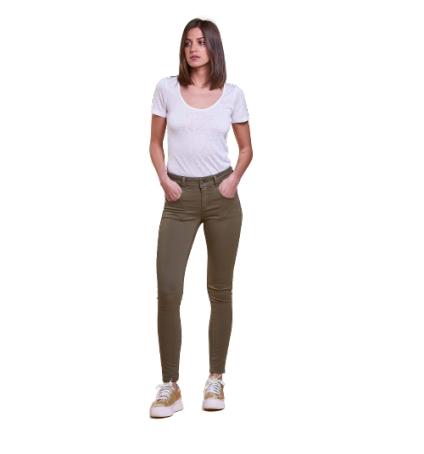 Les Petites Bombes jeans skinny blondie kaki