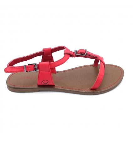CHATTAWAK Sandale 11-ZHOE Rouge