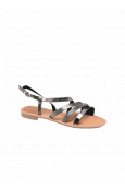 Les Petites Bombes sandales Berren poivre croco