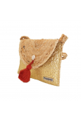 Les Tropéziennes sac pochette ACA13-TZ-GOLD
