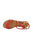 Les Petites Bombes sandales Eden rouge