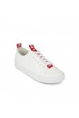 LPB baskets Kelly blanc/rouge