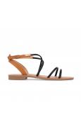 LPB sandales Eden  Noir