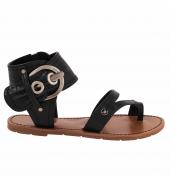 CHATTAWAK sandale 11.S  Pensée noir