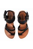 CHATTAWAK sandale Pensée noir