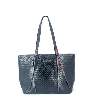 Les Tropéziennes Sac Shopping ARI 01 Noir