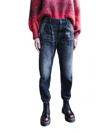 Freeman Jeans Natasha Denim Flaggy F0915 Noir