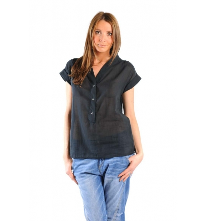 BLOUSE MIL140 CARBONE