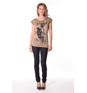 Tee-shirt Little 13q430 Camel