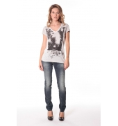 Tee-shirt Kate 13q431 Ecru