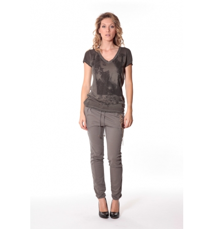 Tee-shirt Kate 13q431 Carbone