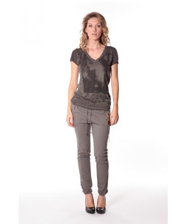 Tee-shirt Kate 13q431 Carbone