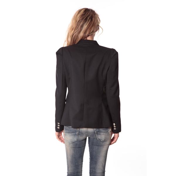 rich royal blazer noir 13q807 890 36. Black Bedroom Furniture Sets. Home Design Ideas