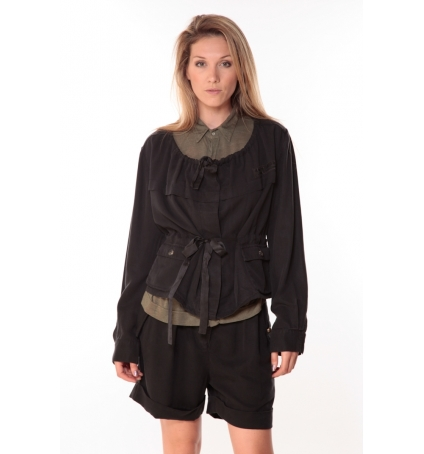 Sack's Veste Woman Noire 21150088