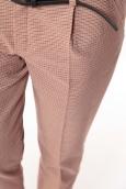 Pantalon Prince de Galles Rouge