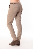 Pantalon Prince de Galles Marron