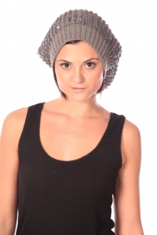 Charlie Joe Bonnet Bob Hat Gris